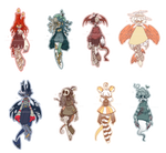 |1/8 open auction| halloween adopts