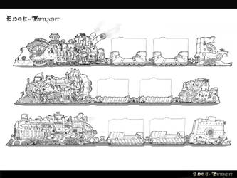 Edge of Twilight Game Concepts by vtishimura