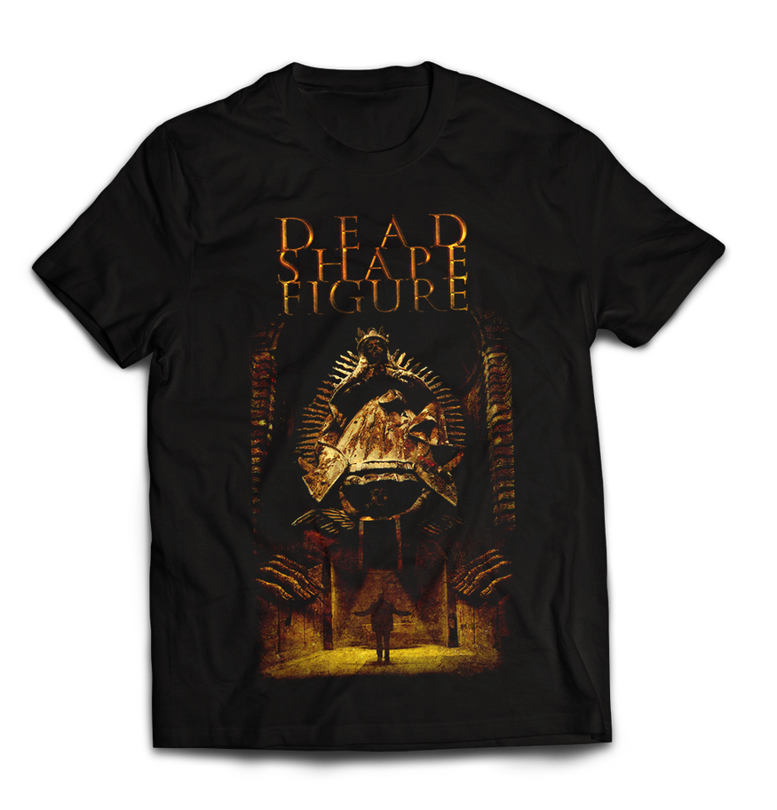 Dead Shape Figure t-shirt design by bozadesign