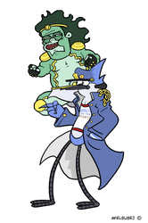 Mordo's Regular Adventure: Mordtaro - Star Muscle