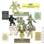 Pokemon Variations _Hypno sub breeds