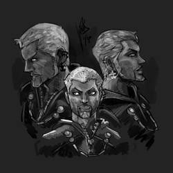 KH3 Luxord Shading by Avielsusej