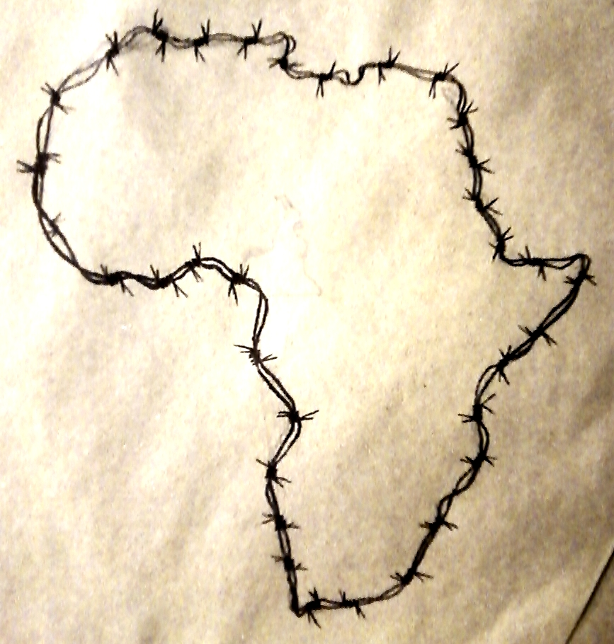 afrika! (barbed wire) by imundzana on DeviantArt