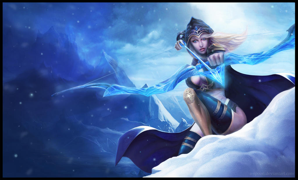 Ashe _ League of Legend by A-Spoon on DeviantArt