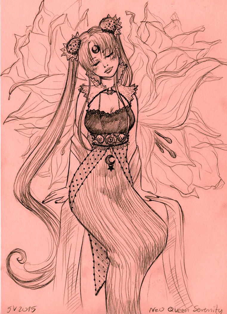 Neo Queen Serenity by CzarnaInez95