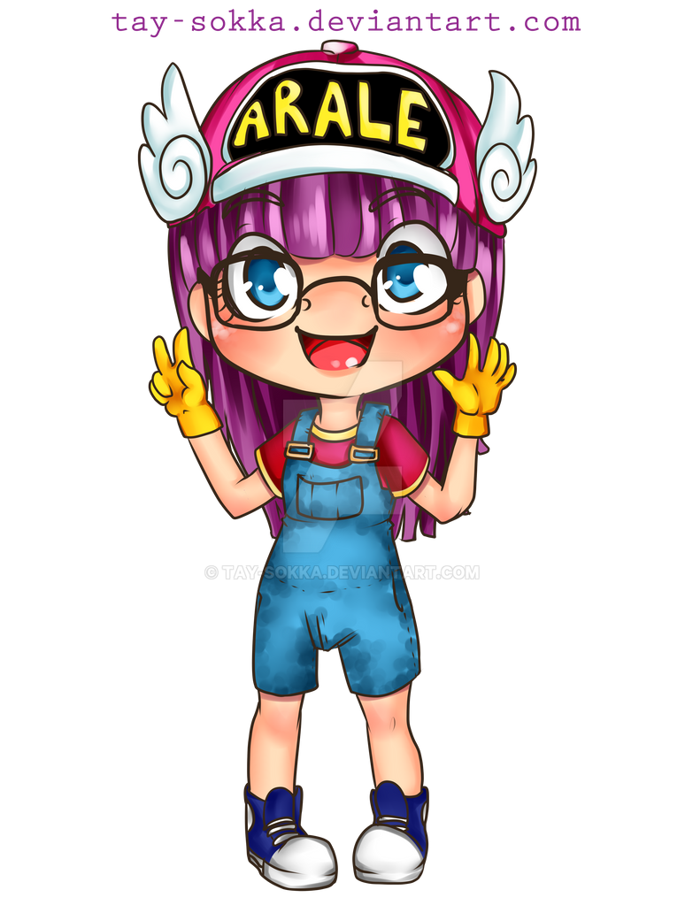 Arale - Dr. Slump by Tay-Sokka