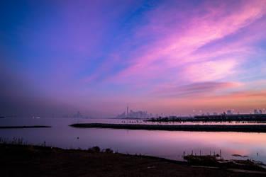 Manhattan Sunrise by PPPP77