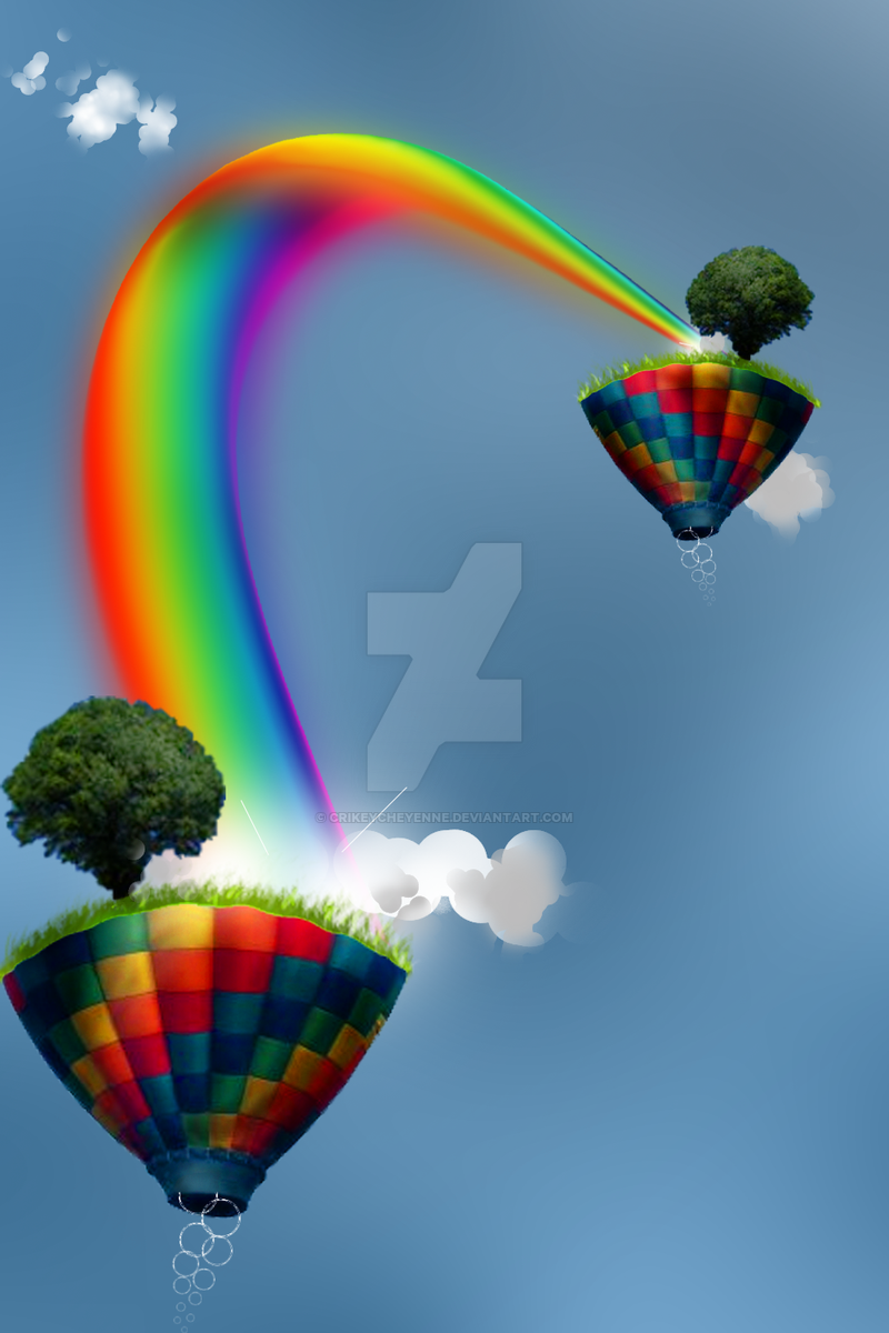 Fantasy rainbow project by crikeycheyenne on deviantart for White rainbow project