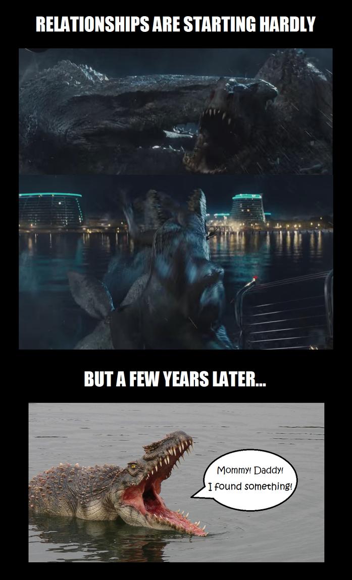 Meme time - Mosasaurs by titanlizard
