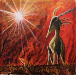 Hatzeg's Inferno by titanlizard