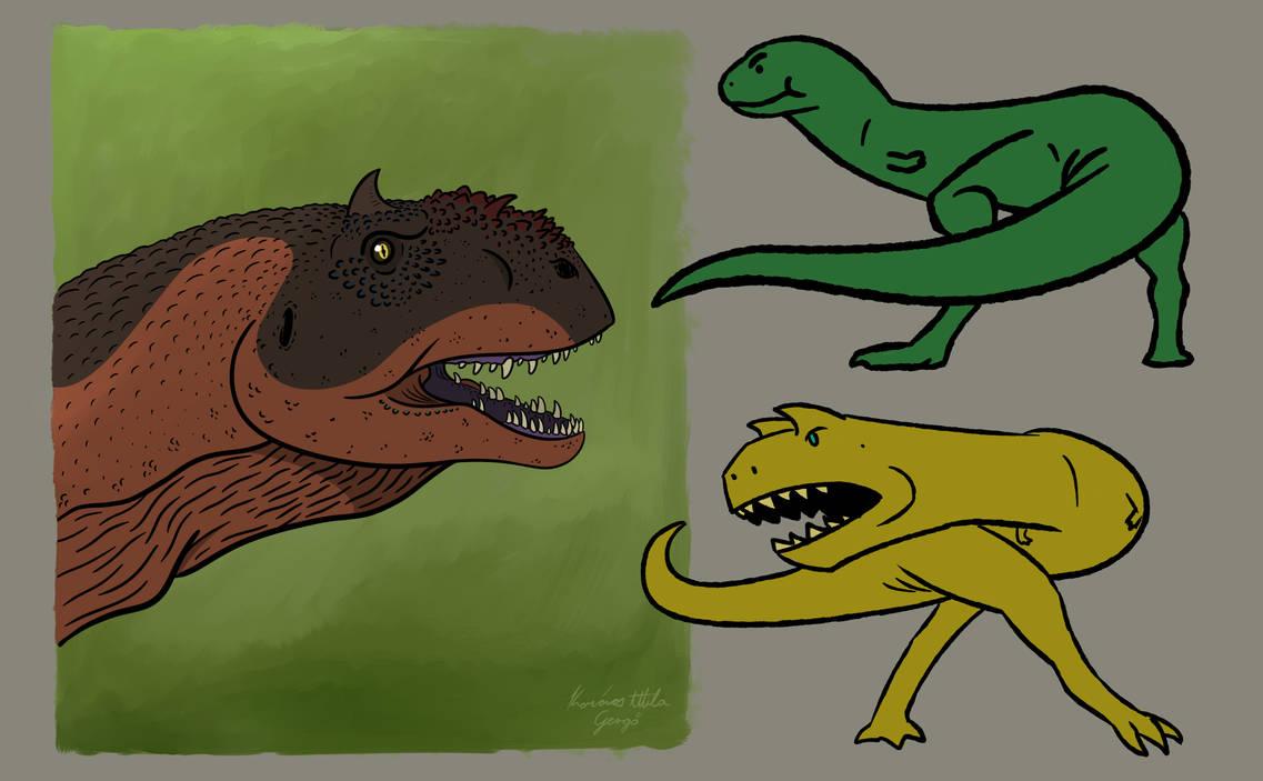 Dino Doodles 2 by titanlizard