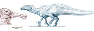 Quadrupedal Spinosauridae and False-Toothed Dino