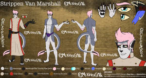 Strippen Van Marshall [Ref Sheet] by MckinleyGArtz