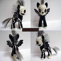 Skeletal Pony by starshadow85