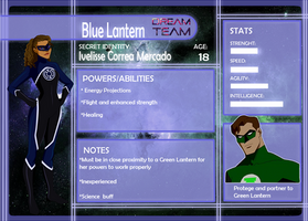 Dream Team App: Blue Lantern by Kaitie1543