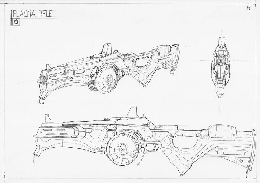 Plasma Rifle V2