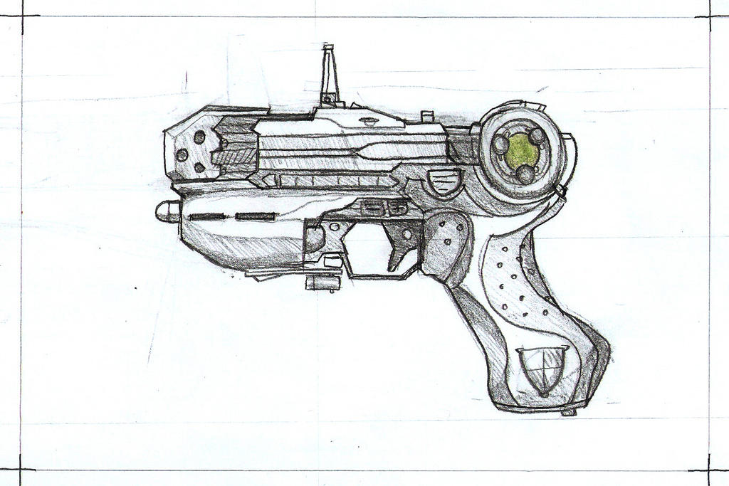Plasma pistol by Rievil