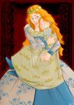 Isabel y Catalina by Violeta-de-Panteon