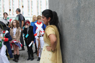 Comicon 2013 - Fem!India by RussianSunflower3