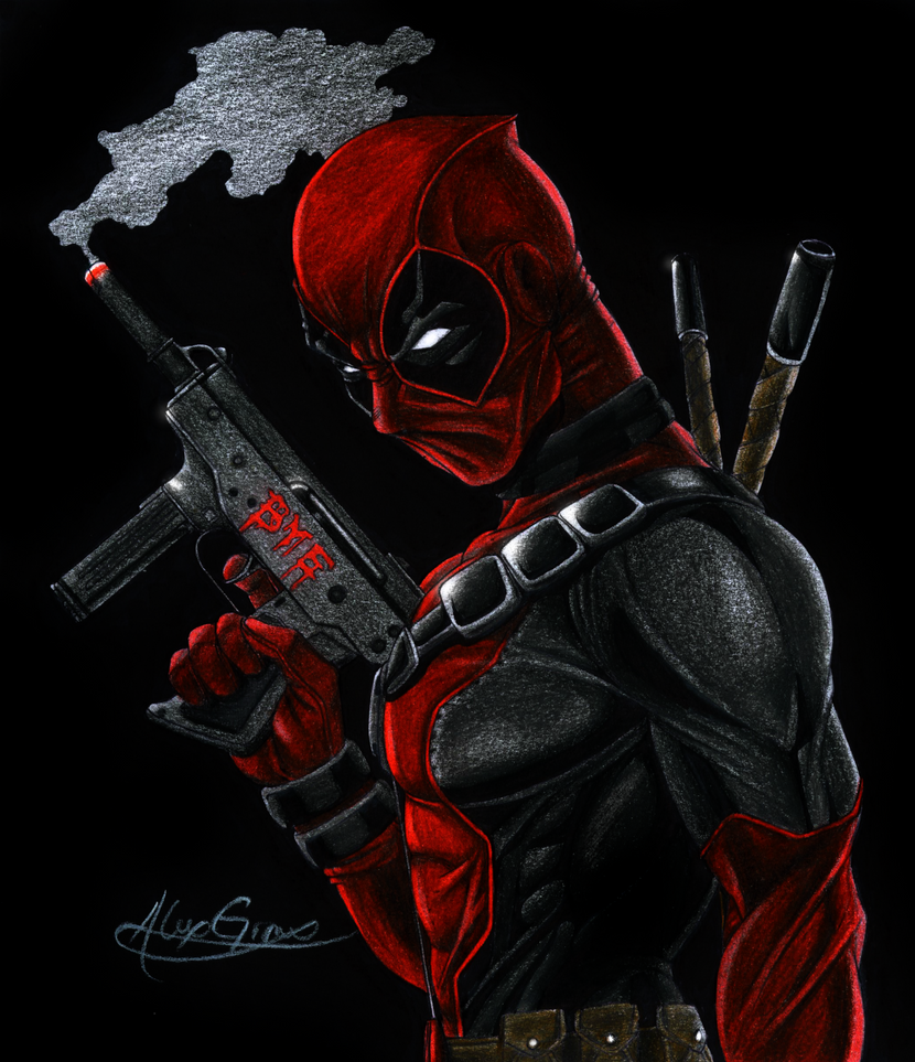 Deadpool by Xgiroux23