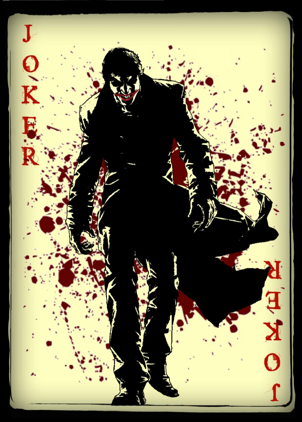joker card art - photo #5