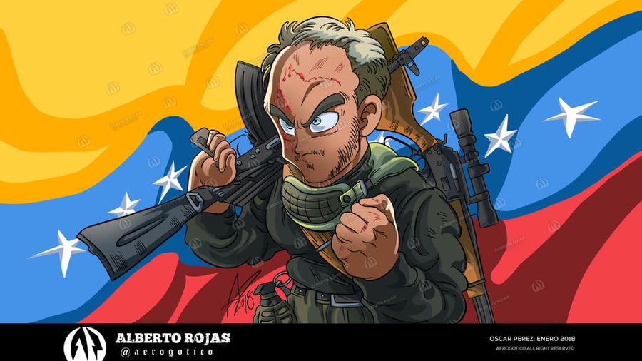 Oscar Perez by aerogotico