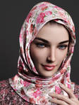 Portrait of Muslim Girl - Layla