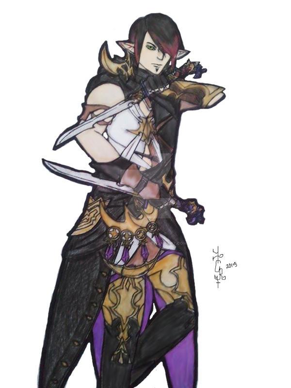 FFXIV Ninja [gift] by Lolita-Ragdoll