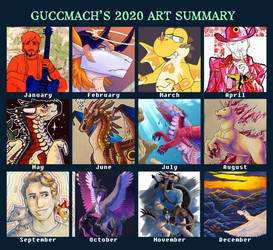 2020 art summary
