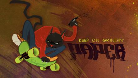 Keep On Grindin' by paperbeatsscissors