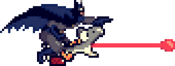 Dark Knight Yoshi PNG by paperbeatsscissors