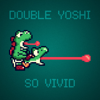 Double Yoshi by paperbeatsscissors