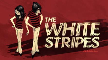 White Stripes by paperbeatsscissors