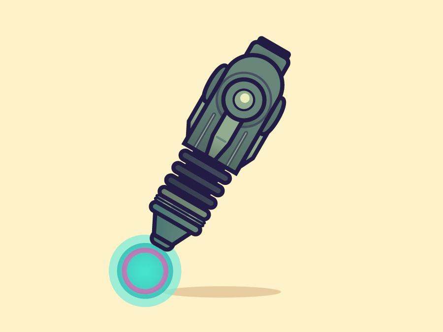 Arm Cannon by paperbeatsscissors