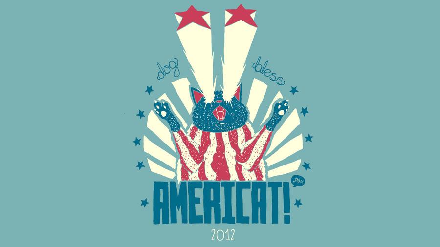 Americat by paperbeatsscissors