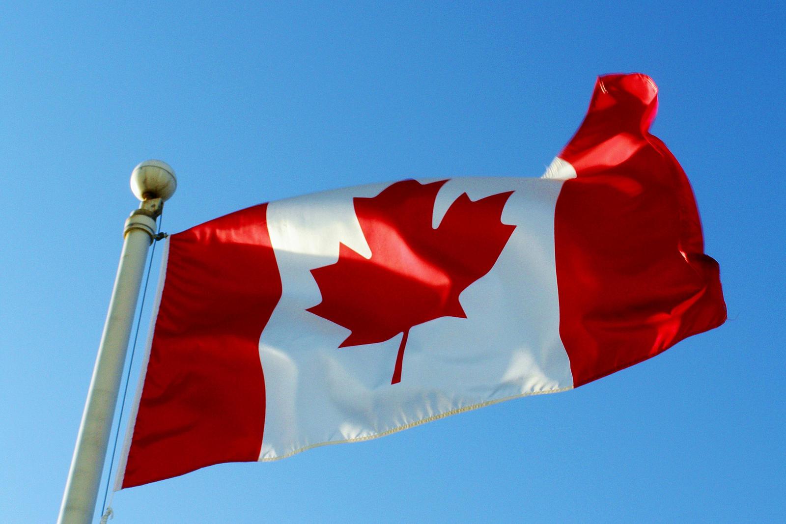 canada flag by coffeezombee on deviantart