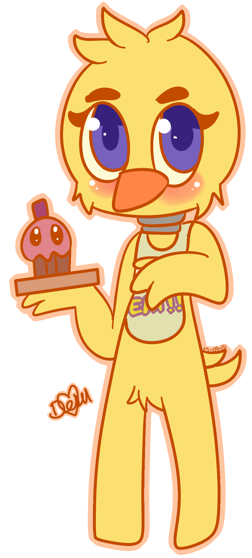 Kawaii chica by damian fluffy doge on deviantart