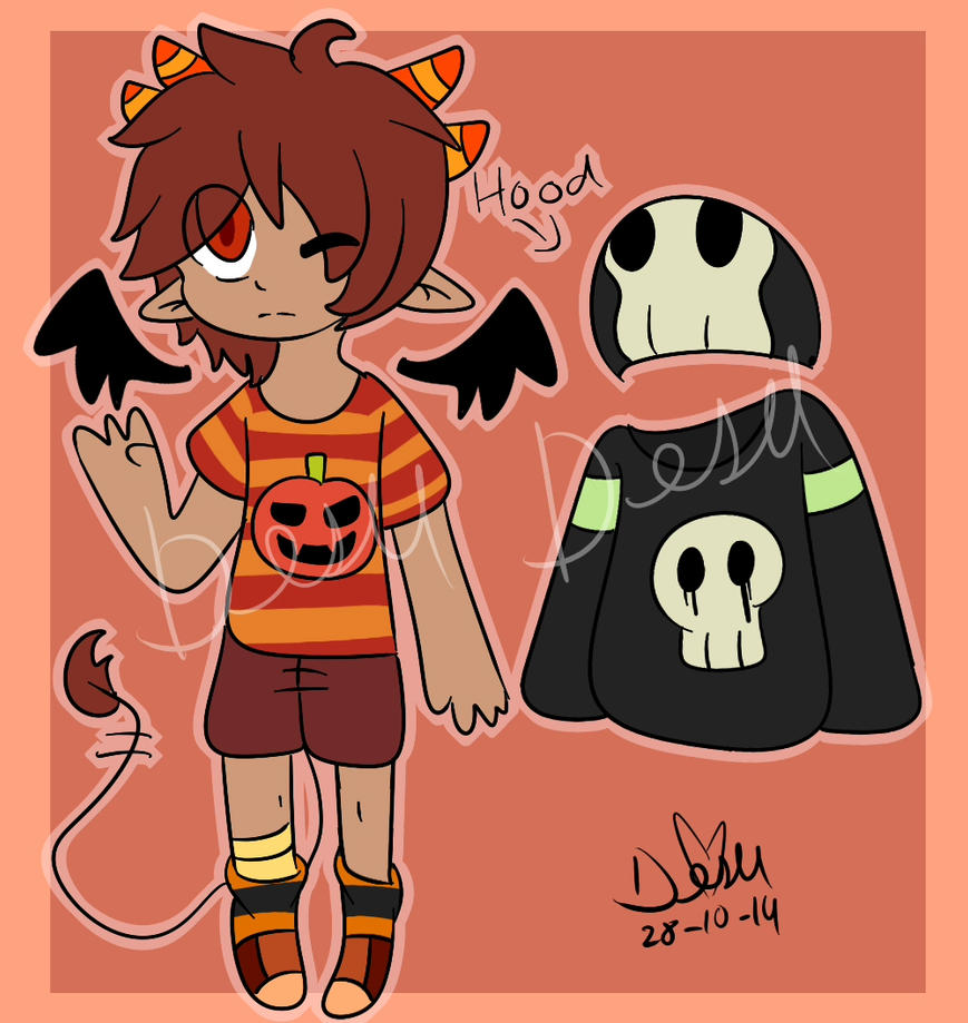 Demon Boy Halloween Offer To Adopt(cancelled) by chicapitufa