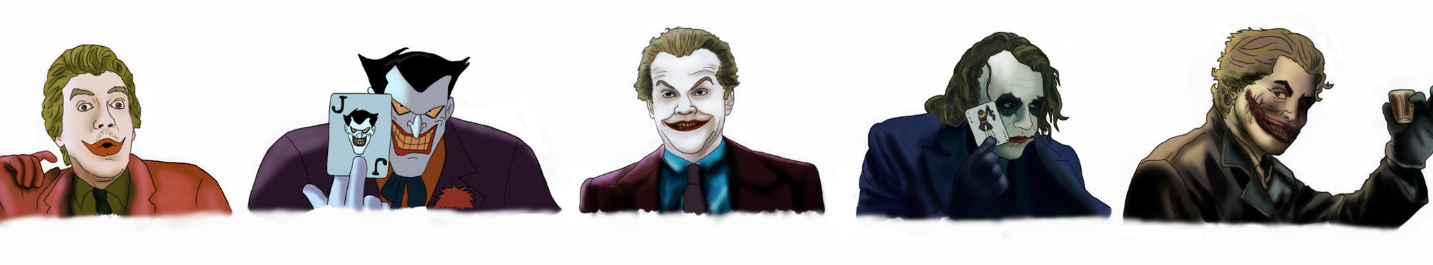 How did the Joker get his scars?
