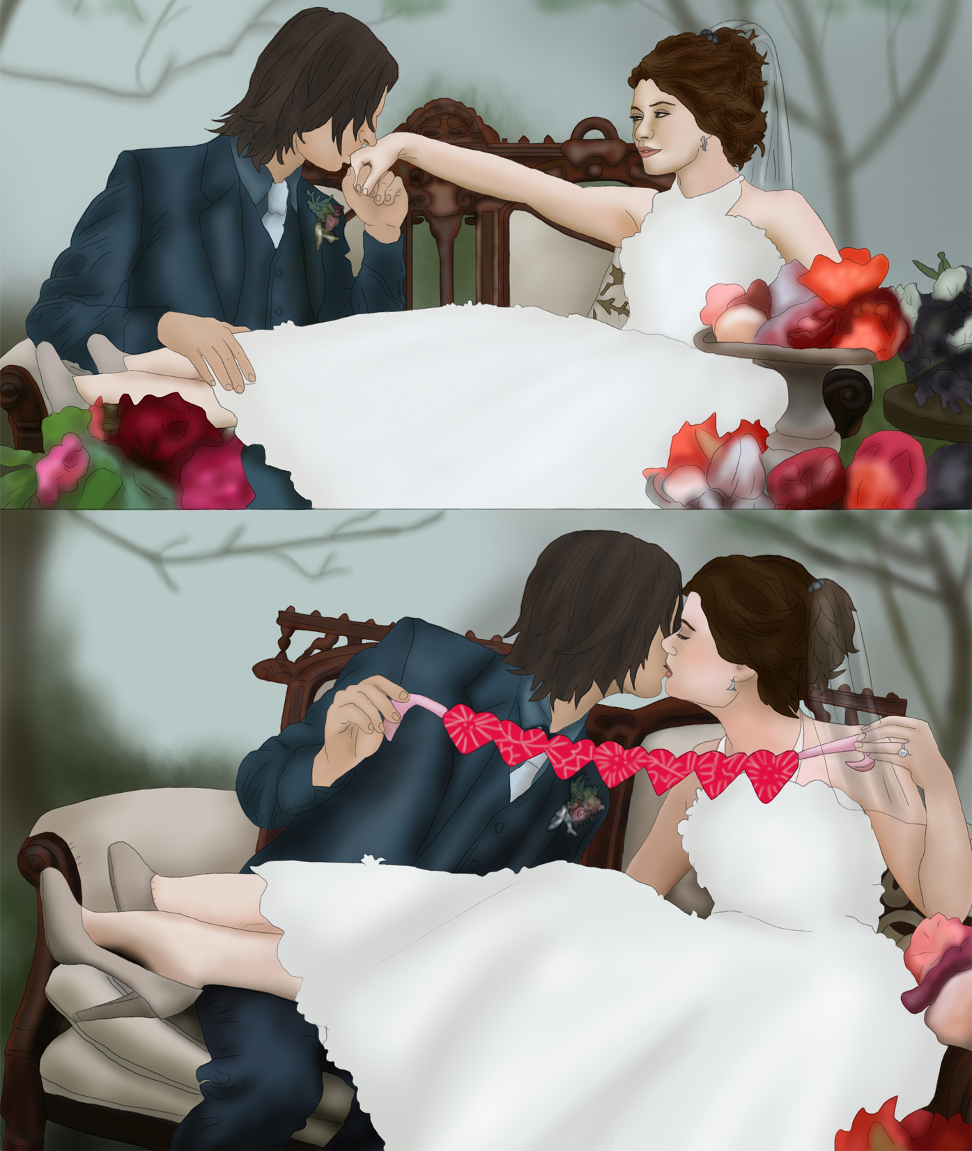 RumBelle Wedding +COMMISSION+ by BLOOD-and-LUST-87 on ...