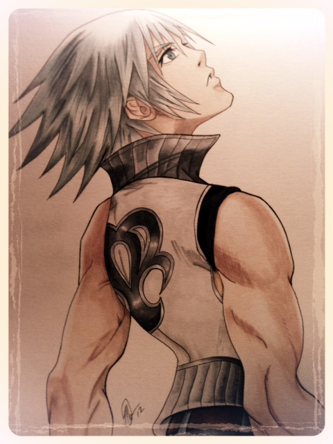 ~A New Keyblade Master~ Riku by Fang-Vanille