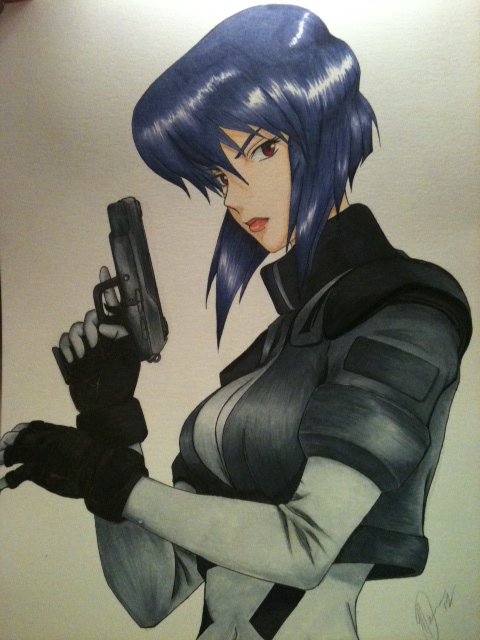 ~Major~ Ghost In The Shell by Fang-Vanille