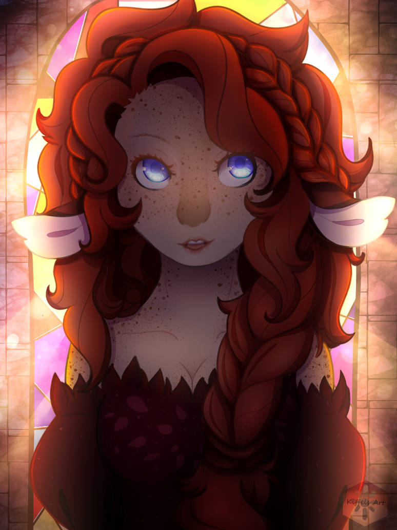 Alura Stormblood Portrait