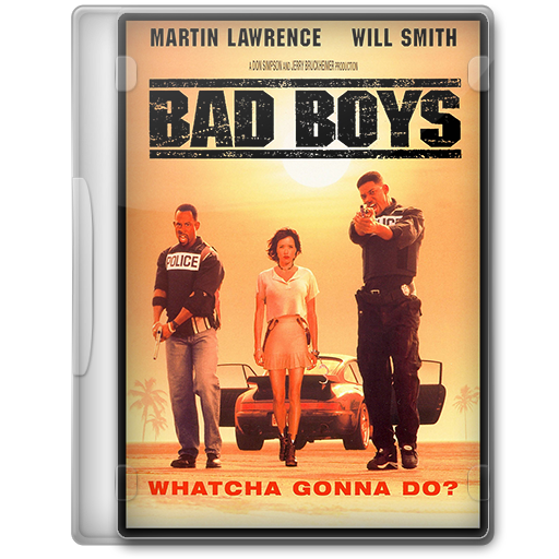 Bad Boys (1995) Movie DVD Icon By A-Jaded-Smithy On DeviantArt