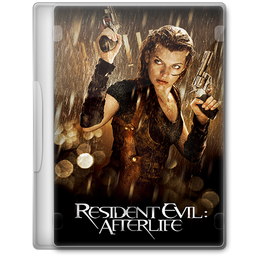 Resident Evil Afterlife 2010 Movie Dvd Icon By A Jaded Smithy On Deviantart