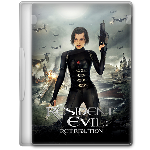 Resident Evil Retribution 2012 Movie Dvd Icon By A Jaded Smithy On Deviantart