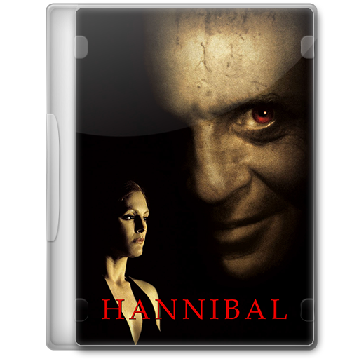 Hannibal 2001 Movie Dvd Icon By A Jaded Smithy On Deviantart