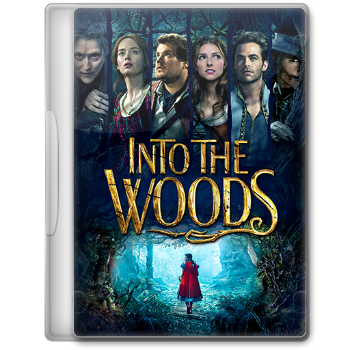 Into The Woods 2014 Movie Dvd Icon By A Jaded Smithy On Deviantart