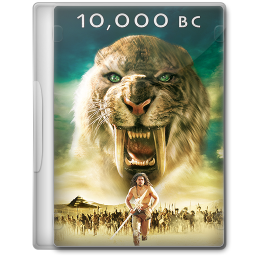 10 000 Bc 2008 Movie Dvd Icon By A Jaded Smithy On Deviantart