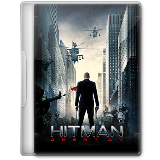 Hitman Agent 47 2015 Movie Dvd Icon By A Jaded Smithy On
